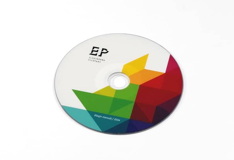 portfolio EP - DVD s dizajn manuálom