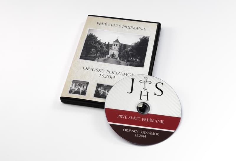 portfolio prve svate prijmanie - DVD z prvého svätého prijímania