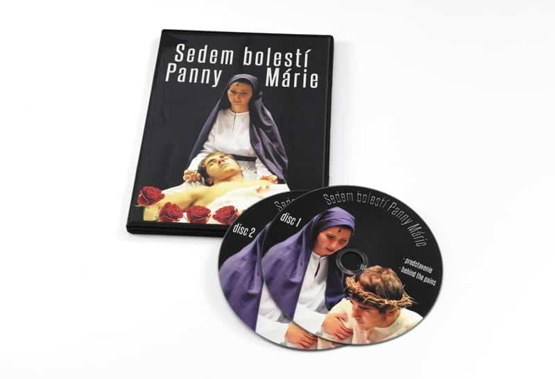 portfolio sedem bolesti panny marie - DVD z birmovky