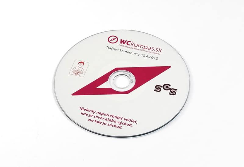 portfolio wc kompas - DVD na tlačové konferencie