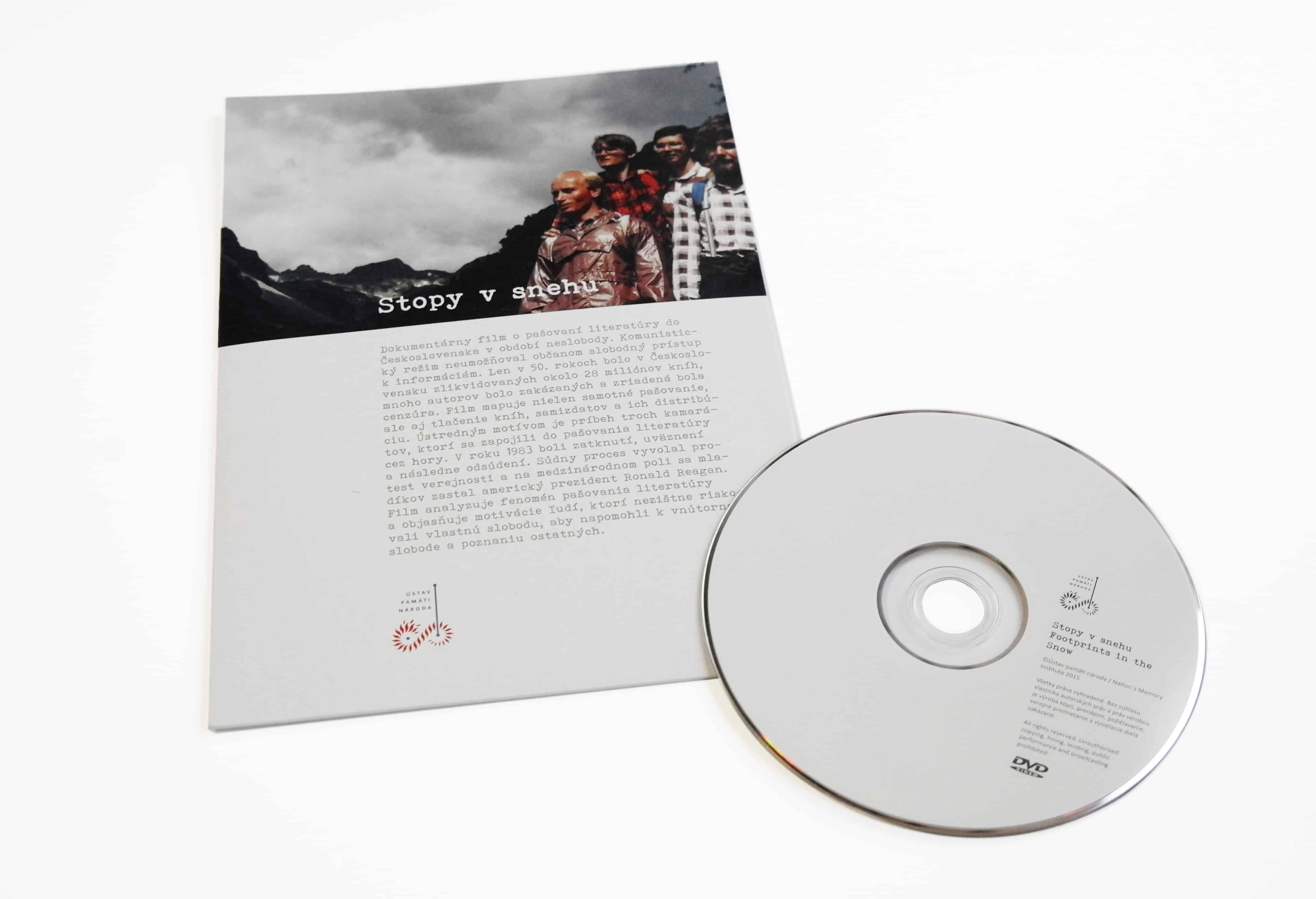 portfolio stopy v snehu - Obaly na CD, DVD, Blu-ray